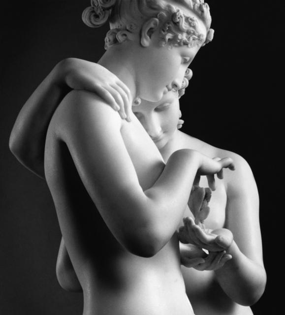 , 'Amore e Psiche stanti, San Pietroburgo, Museo dell'Ermitage,' 1990-1991, Vistamare