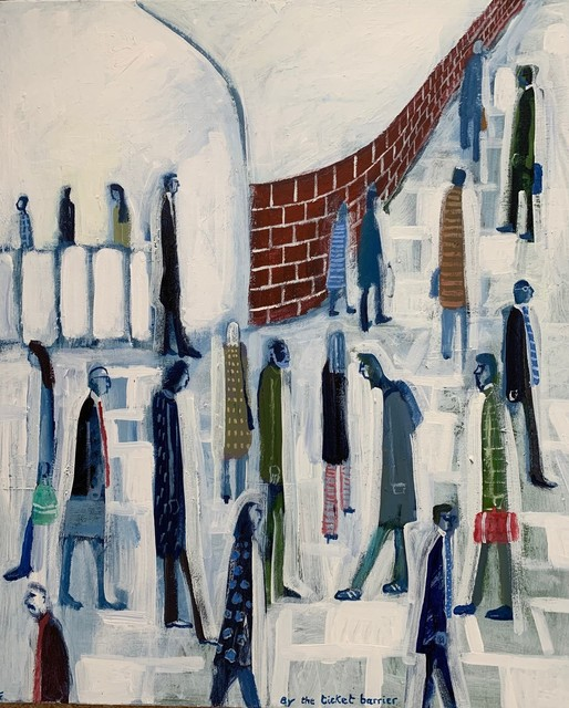 , 'At the ticket barrier,' Contemporary, D-Contemporary