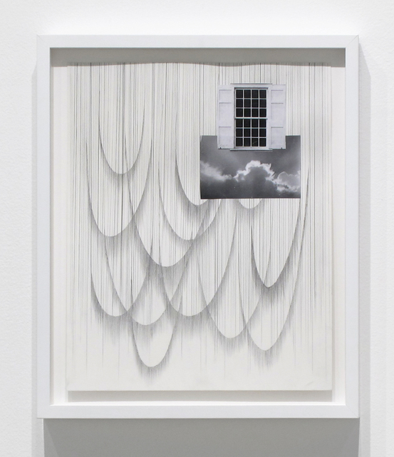 , 'above the clouds,' 2017, Inman Gallery