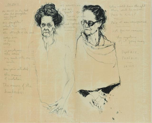 , 'Double Diana with Poem,' 2007, Tamarind Institute