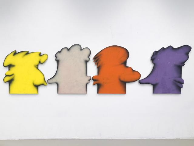 , 'Another Family Romance (Lemon), (Unbleached), (Orange), (Purple),' 2016, Galerie Kandlhofer