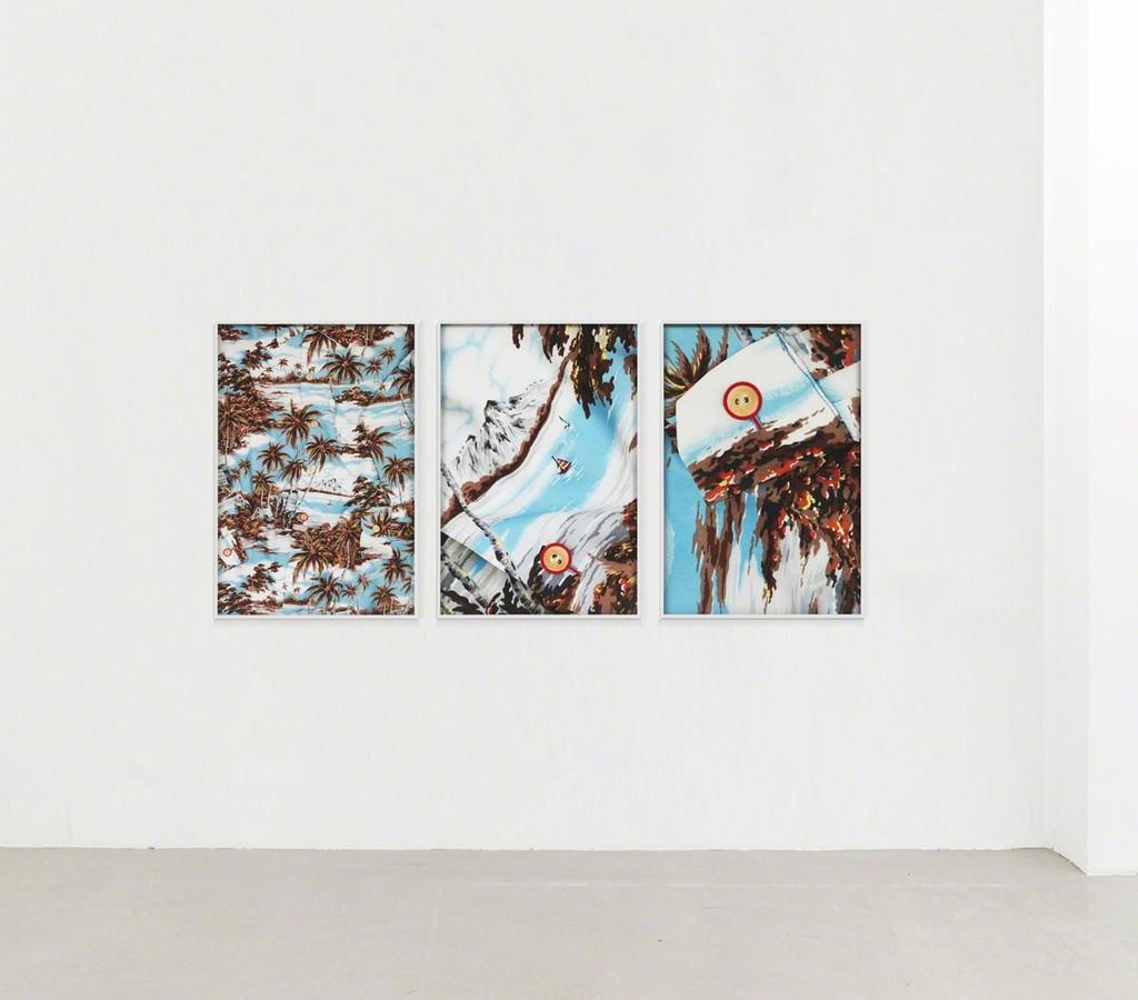 "installation view ""Magnifyer / Aloha Shirt, 2017"""