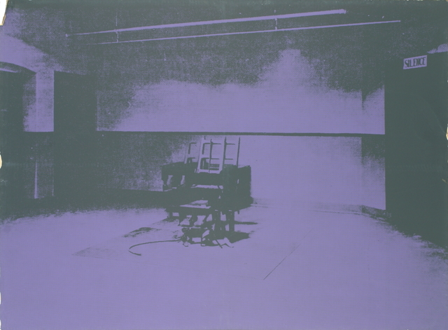 Andy Warhol, 'Electric Chair-Sunday B Morning', 1971, Print, Serigraph, ArtWise