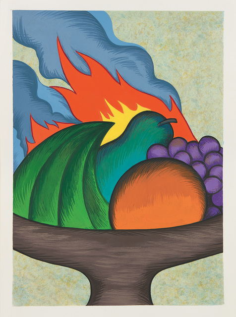 Julie Curtiss, 'Fruit bowl on fire', 2015, Phillips