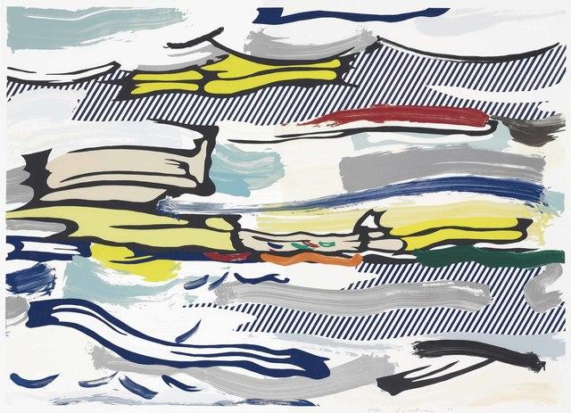 Roy Lichtenstein, 'Seascape, from Landscape Series', 1985, Christie's