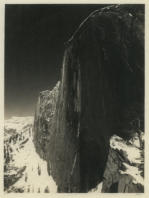 , 'Monolith, The Face of Half Dome,' 1927, Richard Moore Photographs