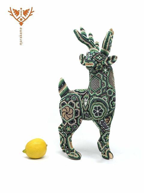 """Sergio Bautista de la Cruz, 'Huichol Sculpture """"Maxa Kauyumarie""""', 2018, Marakame - Arte Huichol"""