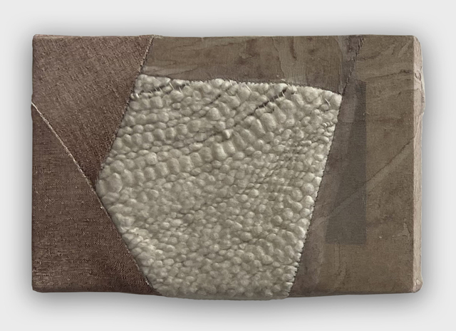 Martha Tuttle, 'Marble Dust (1)', 2021, Painting, Wool, silk, oil on linen, and pigment, Richard Levy Gallery