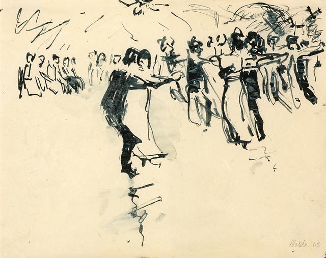 , 'Ballsaal (Ballroom) ,' 1908, Galerie Herold