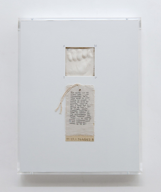 , 'Post-Partum Document: Documentation IV, Transitional Objects, Diary and Diagram (prototype),' 1976/2015, Pippy Houldsworth Gallery