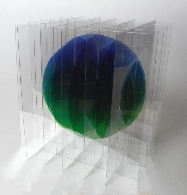 , 'Dessin/Volume: Balle Flottante IV (Bleu-Vert) 1/6,' 2015, Imaginart Gallery