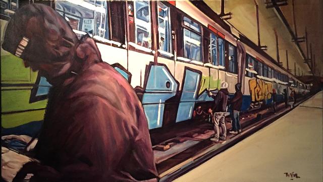 , 'Metro Madrid,' 2015, Galerie SOON