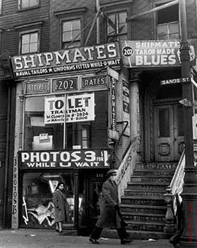 Andreas Feininger, 'Sand Street, Brooklyn, NY', 1946, Atlas Gallery