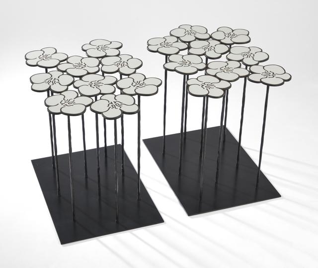 , 'Table Orchidée 2 x 9 fleurs,' 2017, Mazel Galerie
