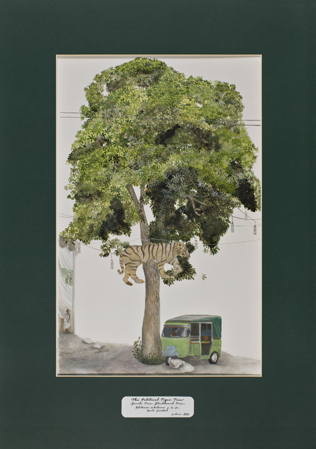 , 'Trees of Pakistan - The Political Tiger Tree, Devils Tree, Blackboard Tree,' 2013-2014, GALLERYSKE