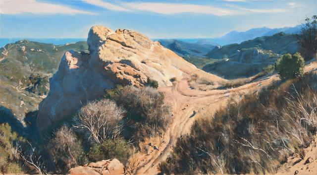 Bob Stuth-Wade, 'Topanga Canyon, Eagle Rock', 2018, Valley House Gallery & Sculpture Garden