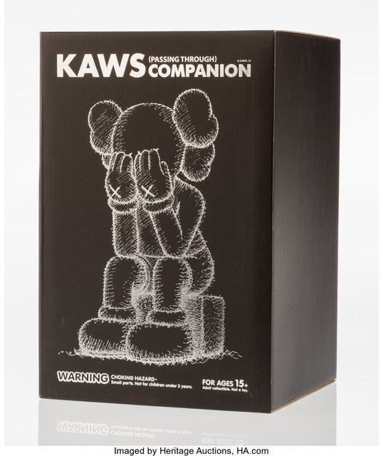 KAWS, 'Passing Through Companion (Black)', 2013, Heritage Auctions