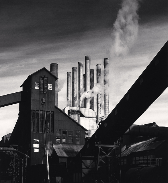 Michael Kenna, 'The Rouge, Study 140, Dearborn, Michigan, USA.', 1994, Photography, Silver Gelatin Print, Weston Gallery