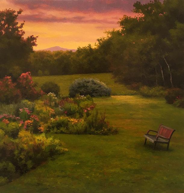 , 'Backyard, Heath,' 2018, William Baczek Fine Arts