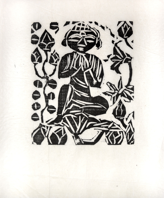 , 'Sitting in the Half Lotus Position,' 1950, Ronin Gallery