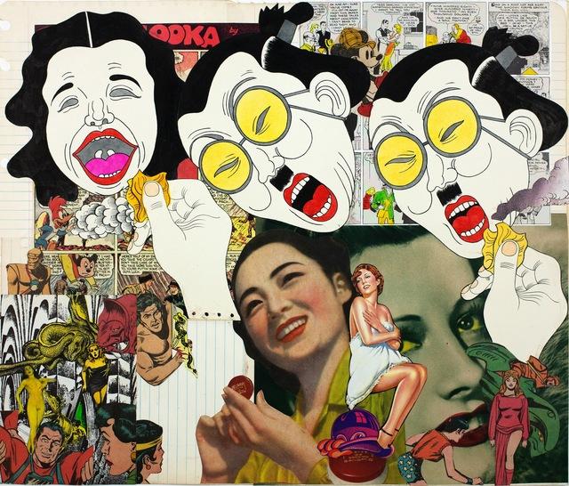 , 'Collage Book7_34 (1969-1975),' 1973, Nanzuka