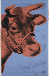 Andy Warhol, 'Cow,' 1971, Phillips: Evening and Day Editions (October 2016)