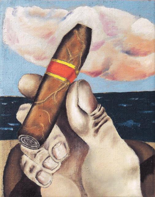 , 'Cigar I,' 2016, Galerie Sébastien Bertrand