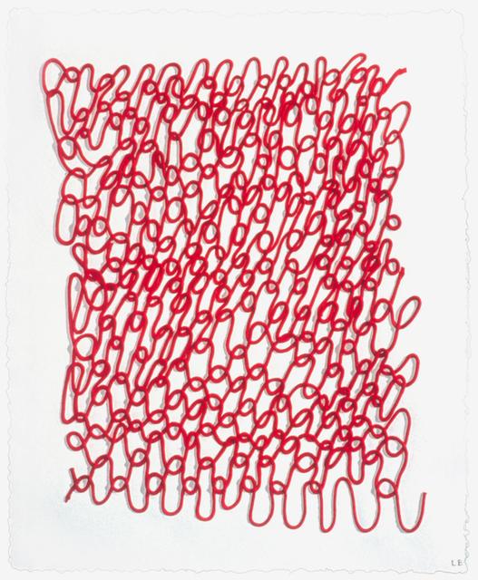, 'Crochet I,' 1998, Mixografia