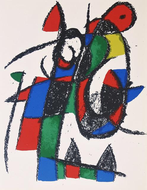 Joan Miró, 'Lithograph II no 5', 1975, Hans den Hollander Prints