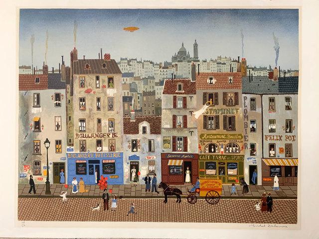 Michel Delacroix, 'BOULANGERIE ROUGE', 1985, Broadway fine Art