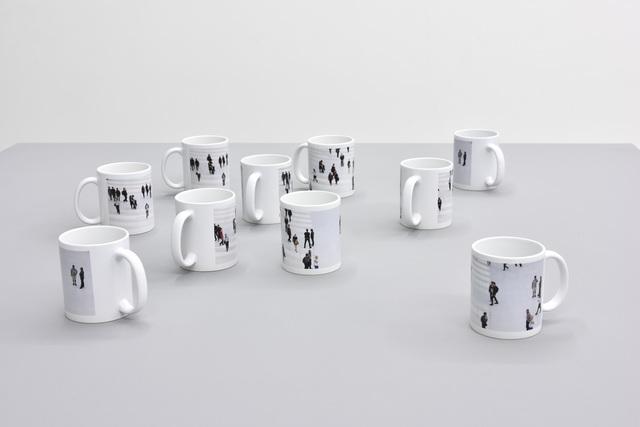 , 'Untitled (mugs),' 2017, PRAZ-DELAVALLADE