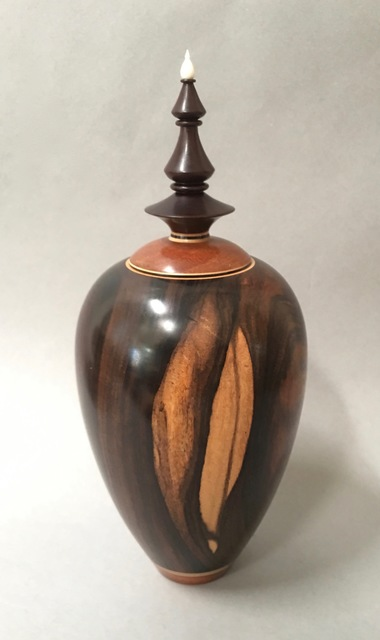 Ray Allen, 'Lidded Vessel', 1992, Beatrice Wood Center for the Arts