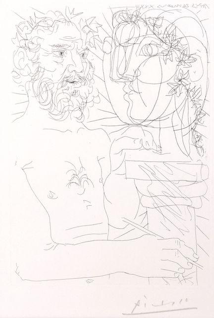 Pablo Picasso, 'Vieux Sculpteur au Travail', 1933, Catherine E. Burns Fine Prints