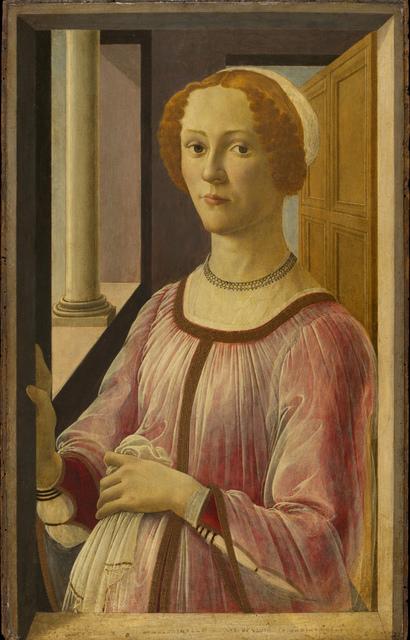 , 'Smeralda Bandinelli,' 1471, Gemäldegalerie Alte Meister