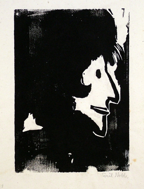 , 'Profile of a Woman,' 1917, Harris Schrank Fine Prints