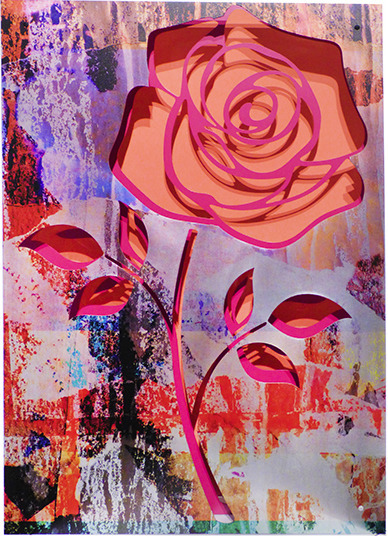 , 'Crush- Rose on coral,' 2017, FP Contemporary