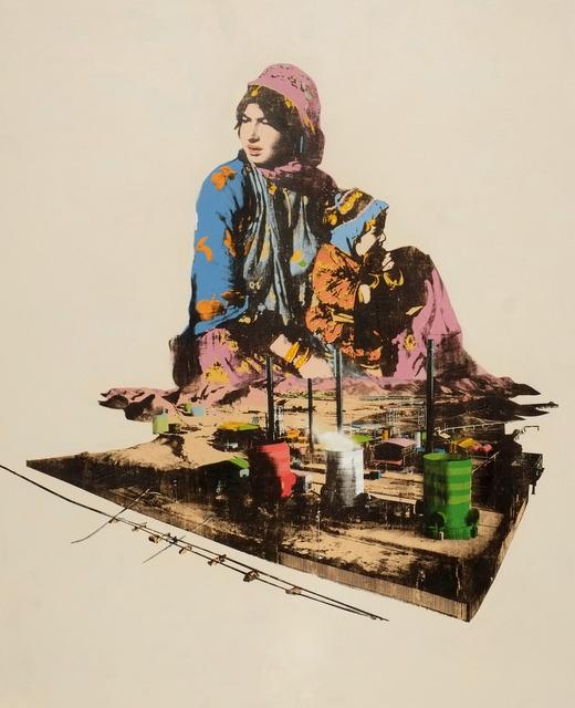 Amin Roshan, 'For Mother Earth', 2013, Janet Rady Fine Art