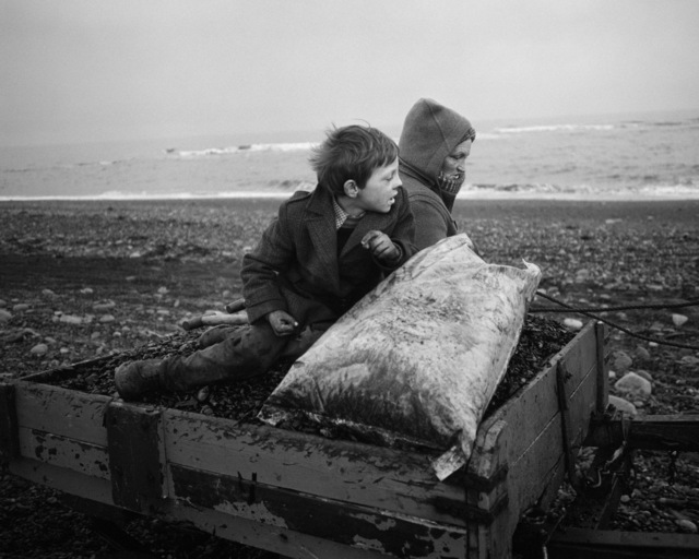 , 'Rocker and Rosie going home, Lynemouth, Northumberland,' 1984, Yossi Milo Gallery