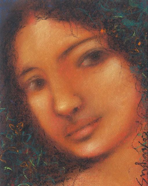 "Suhas Roy, 'Radha, Pastel on Board by Modern Artist ""In Stock""', 2007, Gallery Kolkata"