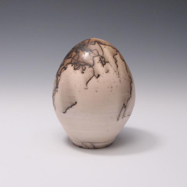Danucha Brikshavana, 'Horse Hair Raku Egg', 2018, Springfield Art Association