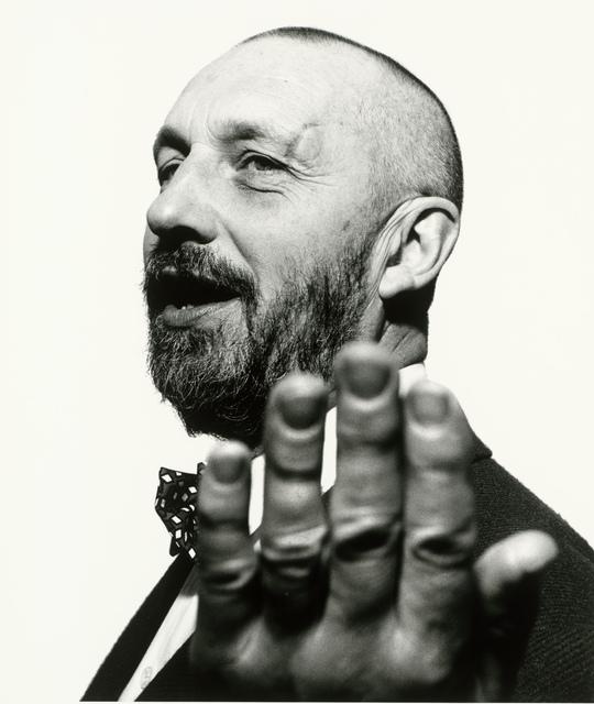 , 'Georg Baselitz,' 1989, Museum für Fotografie