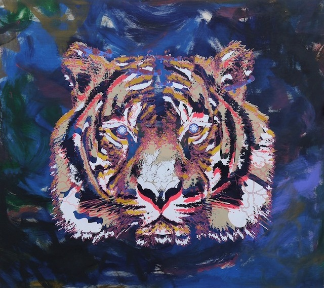 , 'Flying Tiger,' 2015, Jealous Gallery