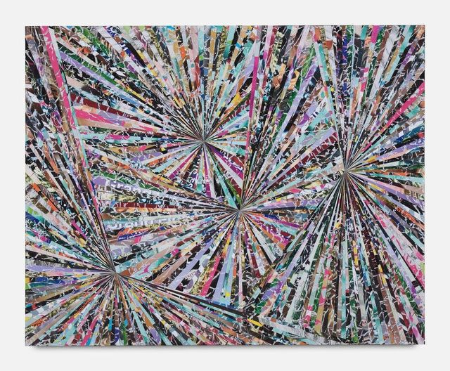 Benjamin Phillips, 'The Rhythm of the Dividing Pair Original Mixed Media Interior Wood Panel Signed', 2019, Flat Space Art