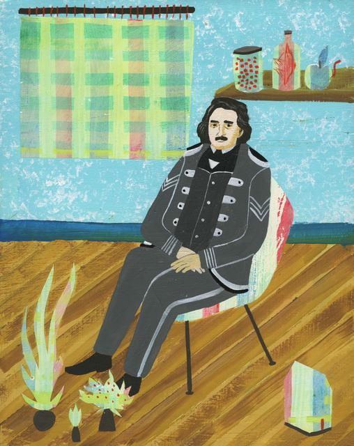, 'Edgar Allen Poe (Friends of Friends Series),' 2016, Court Tree Collective