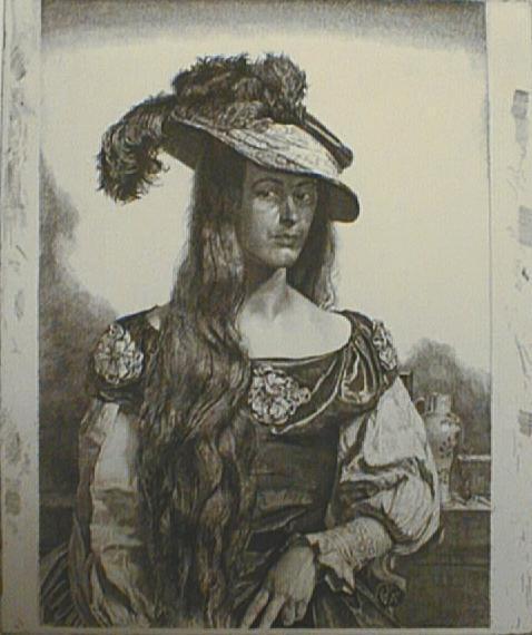 , 'The Black Silk Dress,' 1927, Paramour Fine Arts