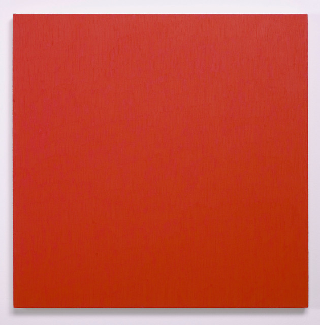 Marcia Hafif, 'Red Painting: Alizarin Crimson Light', 2000, Painting, Oil on canvas, CONRADS
