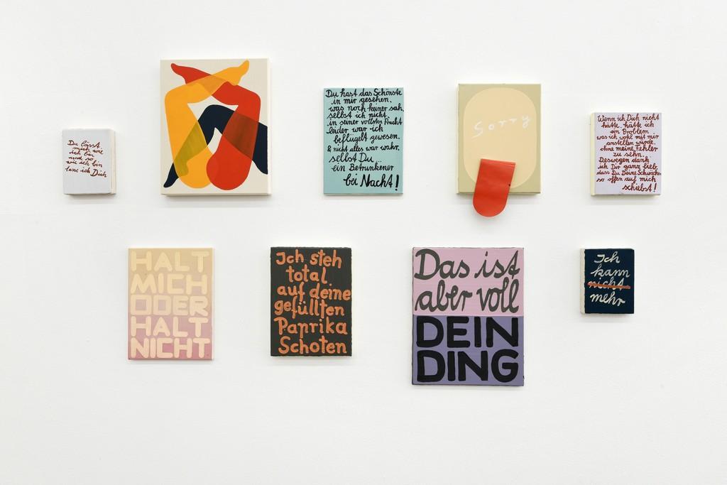 Graphic Design Muur : Corinne von lebusa wer rein kommt ist drin galerie kleindienst