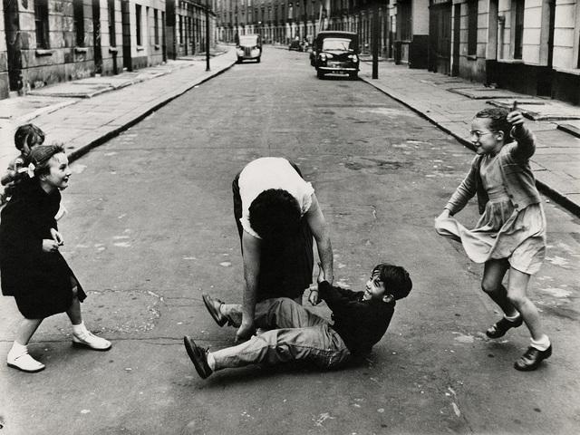 , 'Girls and a Boy, Hampden Crescent, London,' 1957, Gitterman Gallery