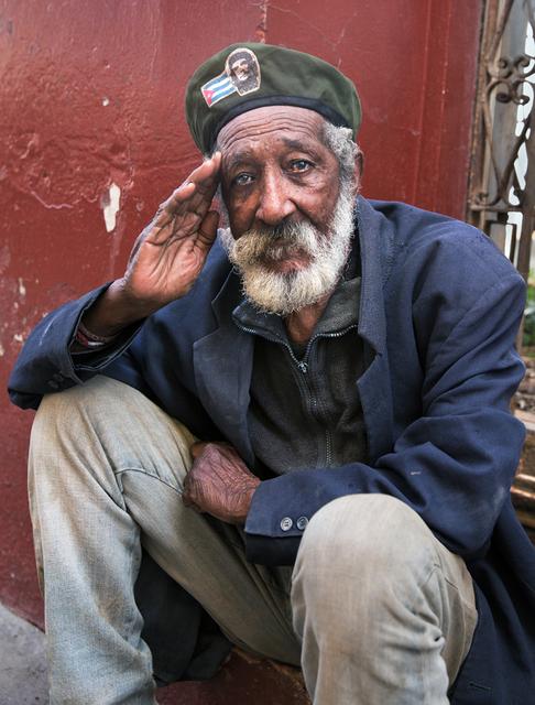 , 'Cuban Salute,' , Soho Photo Gallery