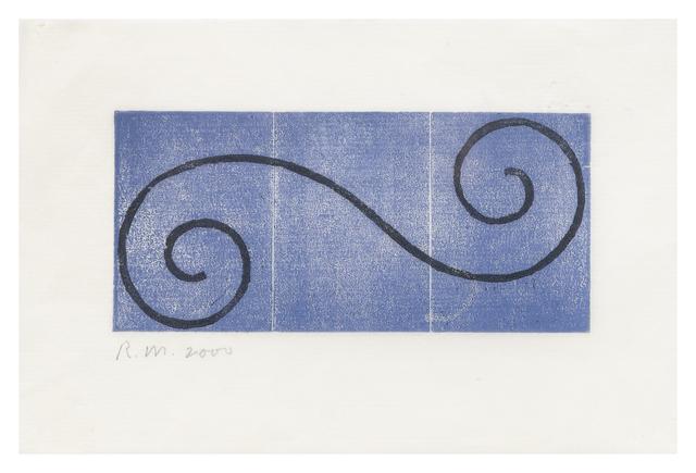 Robert Mangold, 'Untitled (Greeting Card 2)', 2000, Hindman